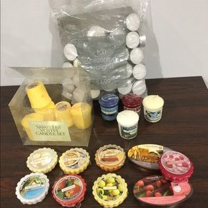 Other - Bundle of tea lights and wax melts